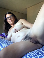 Amateur girls with hairy pussies