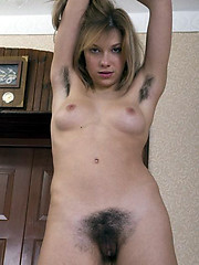 Dark flimsy amateur bush