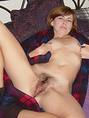 Hairy amateur granny mature