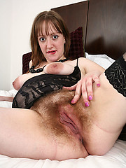 Amateur granny hairy homemade