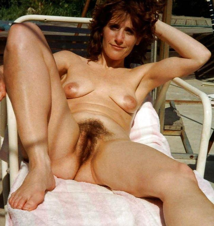 Hd Hairy Milf Striptease
